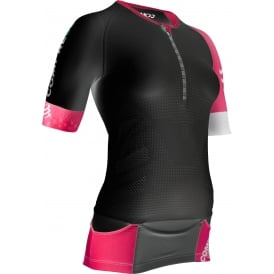COMP PRace Women Tri Aero Top BK Sz L