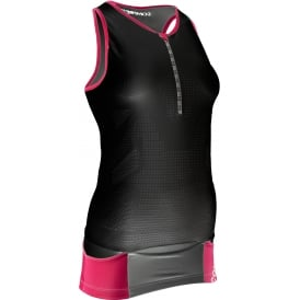 COMP PRace Women Tri Tank Top BK Sz L