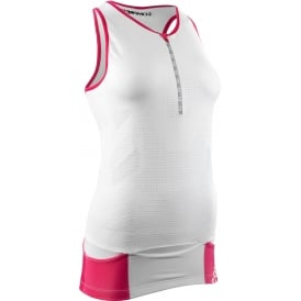 COMP PRace Women Tri Tank Top WE Sz L