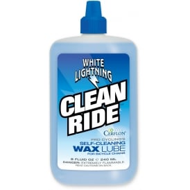 LUBE W/Light Clean Ride8ozBx8