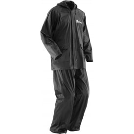 Rain Suit Thor S15 black XXX-large